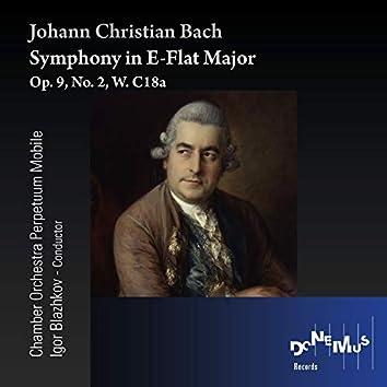 J.C. Bach: Symphony in E-Flat Major, Op. 9, No. 2, W. C18a