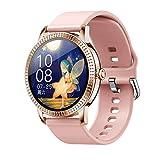 Orologio Intelligente Impermeabile Smart Watch Con Contapassi Cardiofrequenzimetro Cronometro Full Touch Smart Watch Women Waterproof Heart Rate Messaggio Chiamata Promemoria Sport Smartwatch Conne