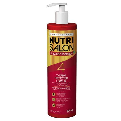 NUTRI SALON - Kératine brésilienne – Thermo Protector Leave-in – 4-500 ml.