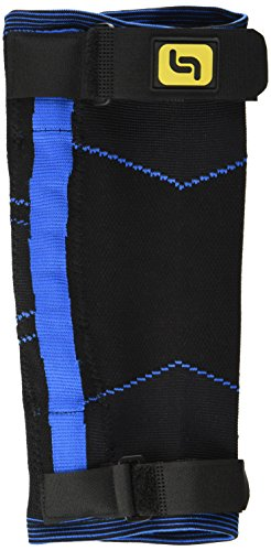 Pflexx Herren Compression Knee Support Interchangeable Twin Pack Bandage, Blau, XS