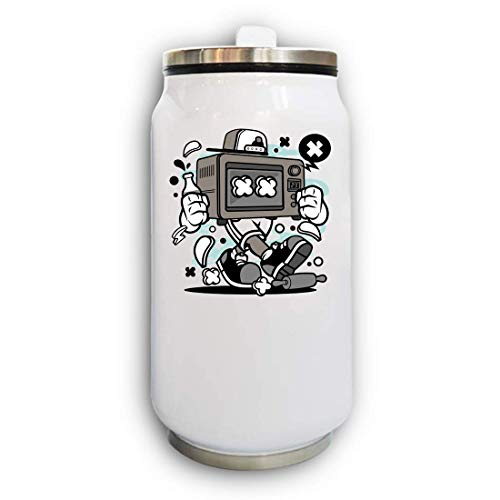 Baking Oven Urban Style Microwave Art Thermal Beverage Can Thermos