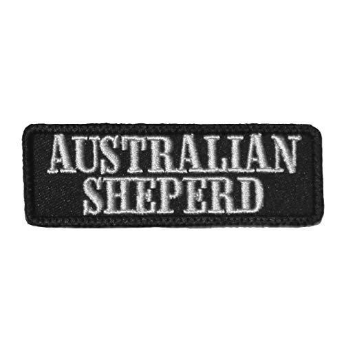 Wechselbarer Patch Aufnäher Klett Australian Shepherd
