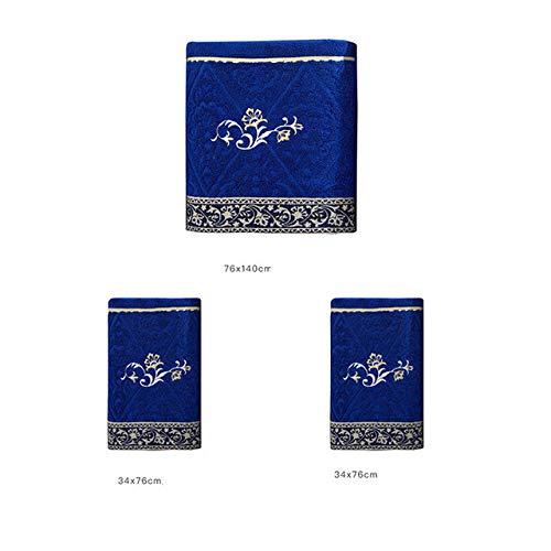 IAMZHL Forniture per la Decorazione-Blue 3 Pieces Set-S
