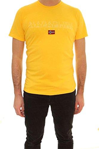 Napapijri Uomo taglio regular sapriol t-shirt XL Giallo