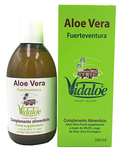 Vidaloe Complemento Alimenticio de Aloe Vera 99,5% 500ml ⭐