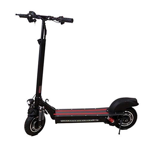 Faltbarer Elektroroller, 1200W Doppelmotor E Scooter Erwachsene, 45 Km/H E-Roller, 10 Zoll Elektro Scooter mit 22Ah Batterie, Klappbar Elektrische Roller, Cityroller Electric Scooter, Belastung 120kg