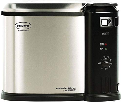 Masterbuilt Butterball 1650W XL Electric 20 lb Turkey Fryer