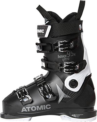 ATOMIC Hawx Ultra 95X Chaussures de ski pour femme Noir/blanc Taille 25