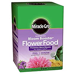 Miracle-Gro Water Soluble Bloom Booster Flower Food