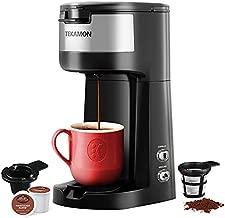 TEKAMON Single Serve K Mini Cup Pod Coffee Maker Brewer Machine, Auto-Cleaning, 6 to 14 Oz