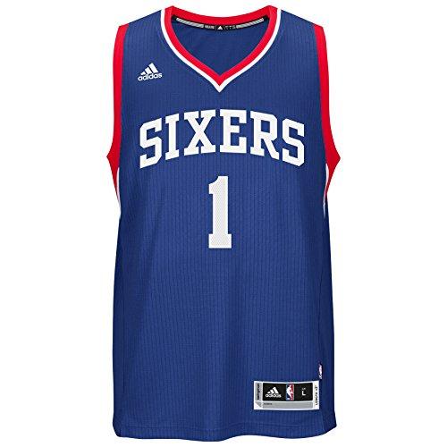adidas Michael Carter-Williams Philadelphia 76ers NBA Swingman Jersey Maglia - Blue