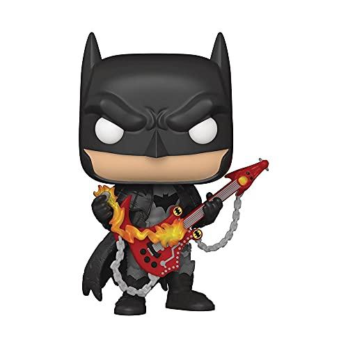 Funko- Pop DC Heroes: Death Metal Batman with Guitar Figura de Vinilo, Multicolor (54718)