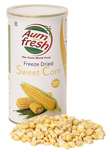 Aum Fresh Bio Gefriergetrocknetes Süßmais 50 g / 1,7 Unze - USDA zertifiziert