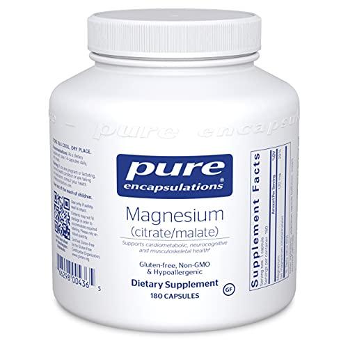 Pure Encapsulations Magnesium (Citrate/Malate) |...