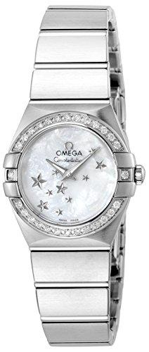 [オメガ] 腕時計 コンステレーション ホワイトパール文字盤 100M防水 123.15.24.60.05.003 並行輸入品