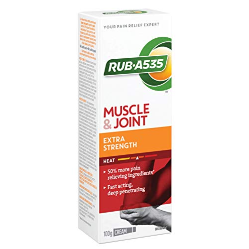 RUB A535 EXTRA STRENGTH CREAM For Relief of Arthritis, Rheumatic Pain, Muscle Pain, Joint & Back Pain 100 g