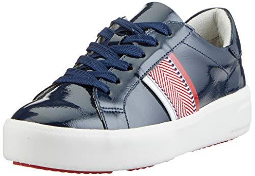 Tamaris Damen 1-1-23750-24 Sneaker, Blau (Navy PATENT 826), 36 EU