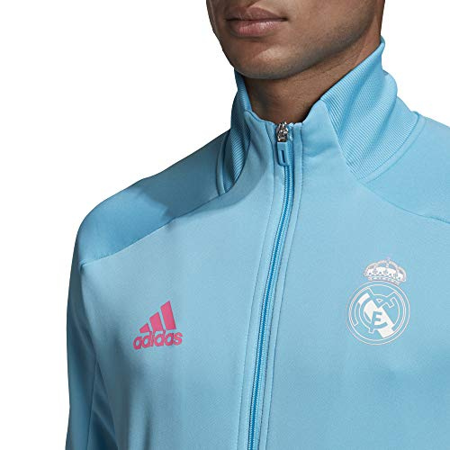 adidas Madrid Temporada 2020/21 Real TK Suit Chándal, Unisex, Brcyan, XS