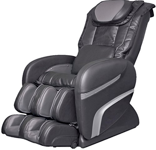 Amazing Deal Osaki OS3000CCHIRO Model OS-3000 Chiro Massage Chair, Charcoal, Auto Recline, L-Track R...