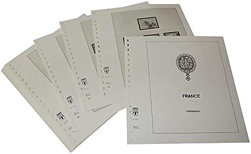 LINDNER Das Original Frankreich - Vordruckalbum Jahrgang 1972-1976