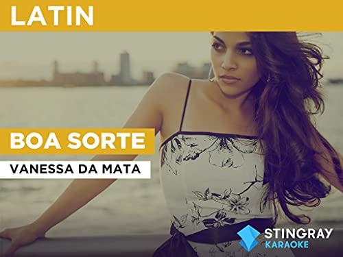 Boa sorte in the Style of Vanessa da Mata