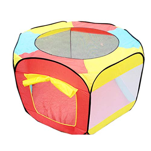 Cheapest Price! Baby playpen Playpen, Foldable Breathable Mesh Fence, Suitable for Indoor and Outdoo...