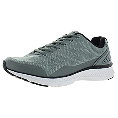 Fila Mens Memory Startup Running Shoes 11.5 Grey/Black