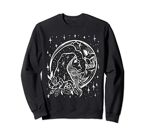 Moon & Stars Sun Kissing the Moon Goth Romantic Sweatshirt