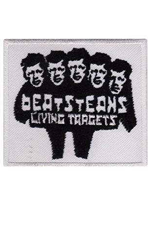 SigitasTrading Beatsteaks Living Targets Alternative R Aufnäher Besticktes Patch zum Aufbügeln Applique
