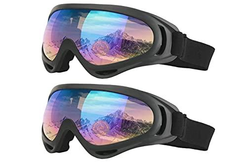 DANAN Ski goggles, motorcycle goggles, ski goggles, men and women,A6 A6