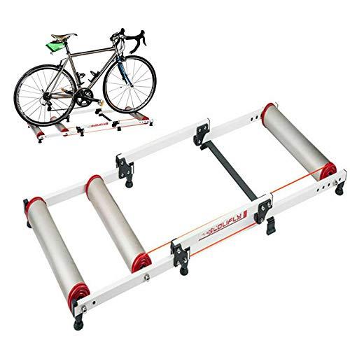 Rodillo de entrenamiento plegable para bicicleta de montaña de 16 a 29 pulgadas, aleación de aluminio