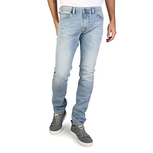 Diesel Uomo Thavar 0852F Stretch Jeans (28W / 32L, Blu)