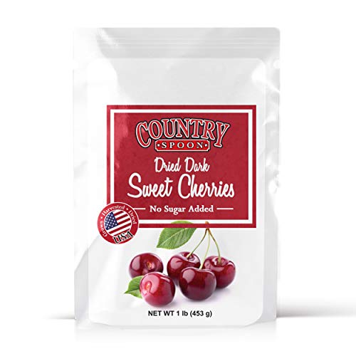 Country Spoon No Sugar Added Dried Sweet Cherries (1 lb.)