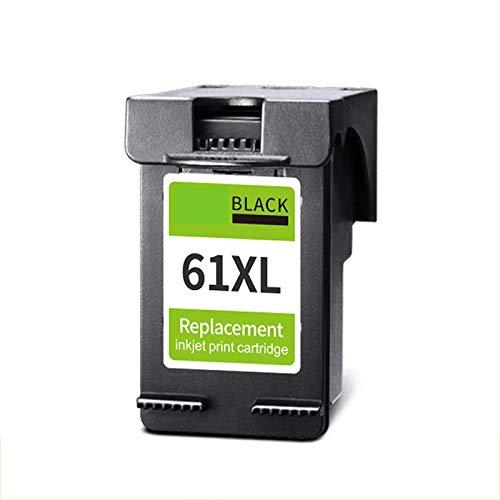 TEZAI La Tinta fácil de Agregar es Adecuada para los Cartuchos de Tinta HP61XL HP1000 HP1050 1010 2620 4630 1511 1011 1510 2620 2516 2540 2540 2540 2510 3510 Impresora Imp Black