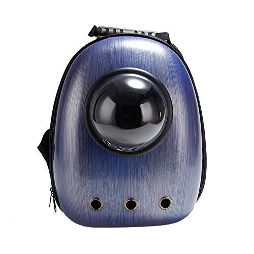 Space Dog pet Products go Out, Portable, atmungsaktiv, wasserdicht, Deodorant, Stoßdämpfung, verschleißfeste, multifunktionale Rucksack, Zeichnung dunkelblau