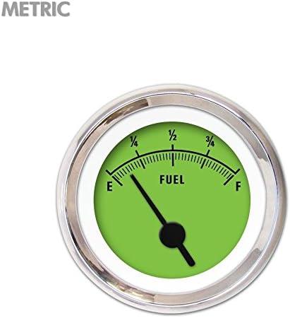 Aurora Instruments GAR258ZMXKABAC Rider Green Level Fuel Indefinitely Gauge Max 85% OFF