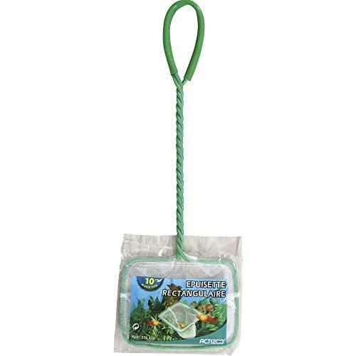 Actizoo Zolux Fangnetz Mesh Fine für Aquarium Weiß 10cm