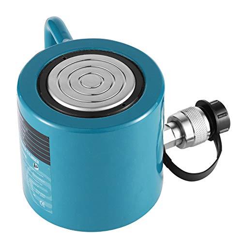 CGOLDENWALL Hydraulic Cylinder Jack Hydraulic Lifting Cylinder Mini Potable Hydraulic Cylinder Industrial Lifting Jack Working Stroke 50mm (Output 30T)