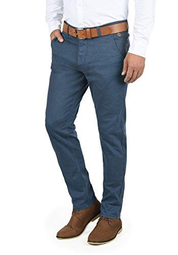 Blend Kainz Herren Chino Hose Stoffhose Aus Stretch-Material Regular Fit, Größe:W32/34, Farbe:Ensign Blue (70260)