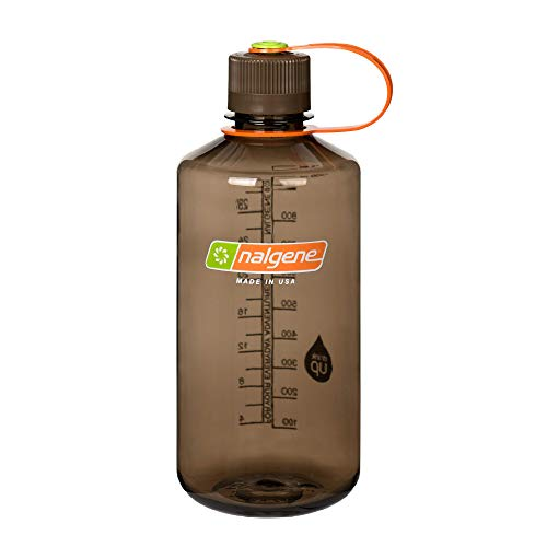 Nalgene Tritan Narrow Mouth BPA-Free Water Bottle, Woodsman, 32 oz (342021)