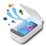 Kemoo, sterilizzatore portatile per smartphone, sterilizzatore portatile per smartphone, con funzione aromaterapia, disinfettante per telefono cellulare, spazzolino da denti e chiavi, gioielli