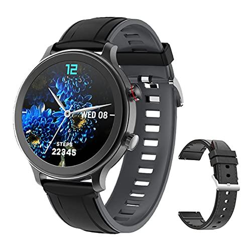 ZGNB Smartwatch, MT18 Llamada Bluetooth Menores Impermeables Y Deportes De Mujer Llamada Smartwatch Support Relk Siri Voice Fitness Tracker,E