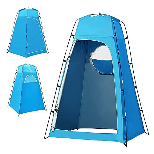 LUBINGMY Tienda Tienda de Refugio de privacidad Tienda de Ducha al Aire Libre para Exteriores Tienda de vestidor con Fondo extraíble para Camping Playa Fotografía (Color : 1)