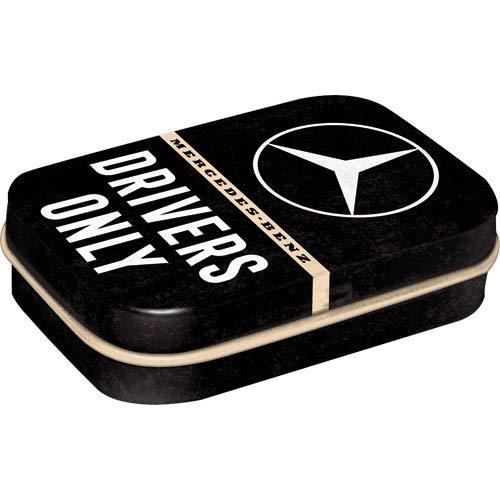 Nostalgic Art Tin Box & Mints Mercedes Drivers Only SMALL