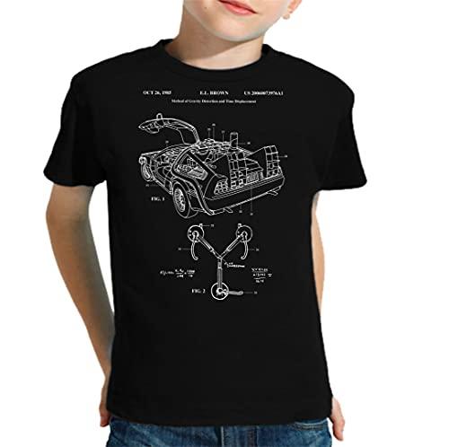 The Fan Tee Camiseta de NIÑOS Regreso al Futuro Marty 020 3-4 Años