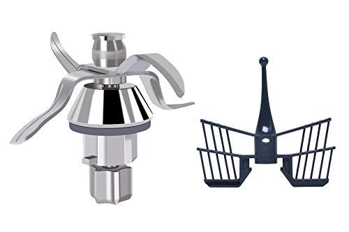 TM31 Lame di ricambio con farfalla per Vorwerk Thermomix TM31 Robot da cucina con guarnizione Poweka