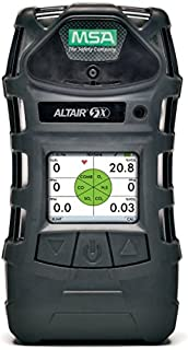MSA 10116926 Combustible Gases, Oxygen, Carbon Monoxide and Hydrogen Sulfide ALTAIR(R) 5X Gas Monitor With Rechargeable Battery, Monochrome Display, Pump, Sampling Line and Probe