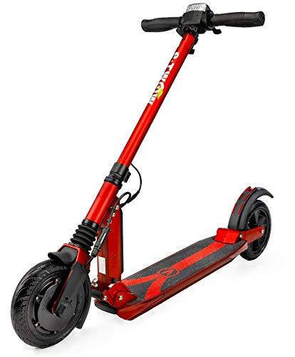 E-Twow elektrische scooter booster V 36 V 10,5 Ah rood
