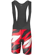 Uglyfrog Culote Corto con Tirantes para Mujer Ciclismo Acolchado Pantalón Gel Culotte para MTB Ciclistas Transpirable Secado Rápido Verano Triatlón Ropa DKWX01
