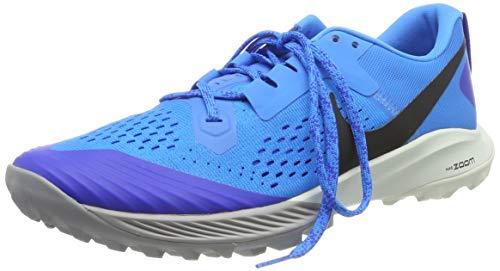 Nike Herren Air Zoom Terra Kiger 5 Laufschuhe, Blau (Blue Hero/Black-Racer Blue-Spruce Aura 400), 42.5 EU